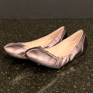 Cole Haan Monica Pleated Ballet Flats. Size 8.5